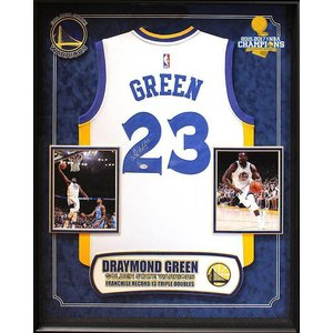"""Golden State Warriors"" 2017 NBA Champ Draymond Green signed Jersey"