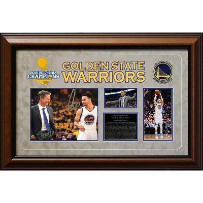 "'Warriors"" Curry/Kerr 8x10 unf"