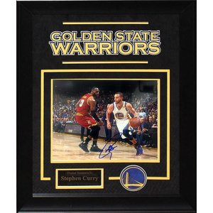 """Golden State Warriors"" Curry Signed 8x10 Photo"
