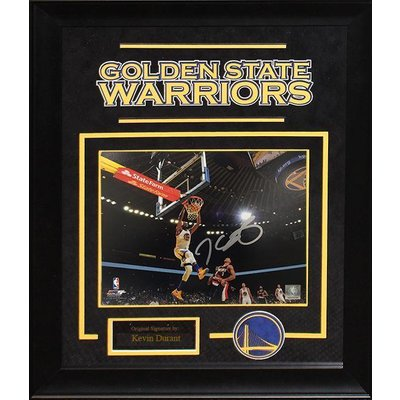 """""""Golden State Warriors"""" Kevin Durant Signed 8x10 Photo"""