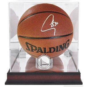 """Golden State Warriors"" Stephen Curry signed Basketball"
