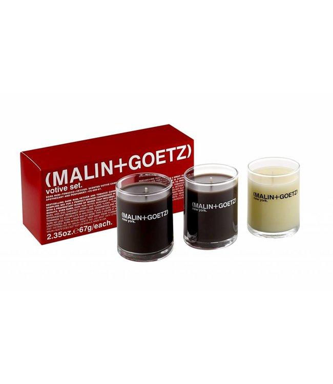 (MALIN+GOETZ)  Coffret Mini Bougies 3x67g