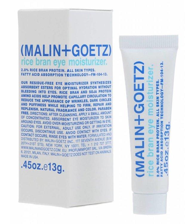 (MALIN+GOETZ)  Hydratant pour les yeux au son de riz  .45oz. / 13g