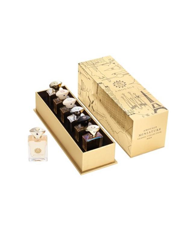 """Amouage  Les Miniatures """"Collection Classique"""" pour Hommes 6x7.5ml"""