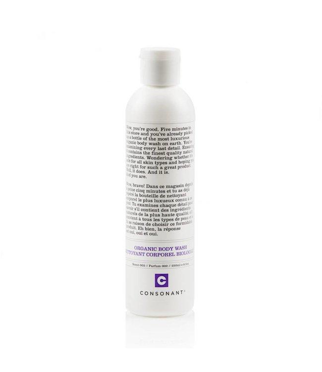 Consonant  Nettoyant Corporel Biologique - Parfum 002 250ml