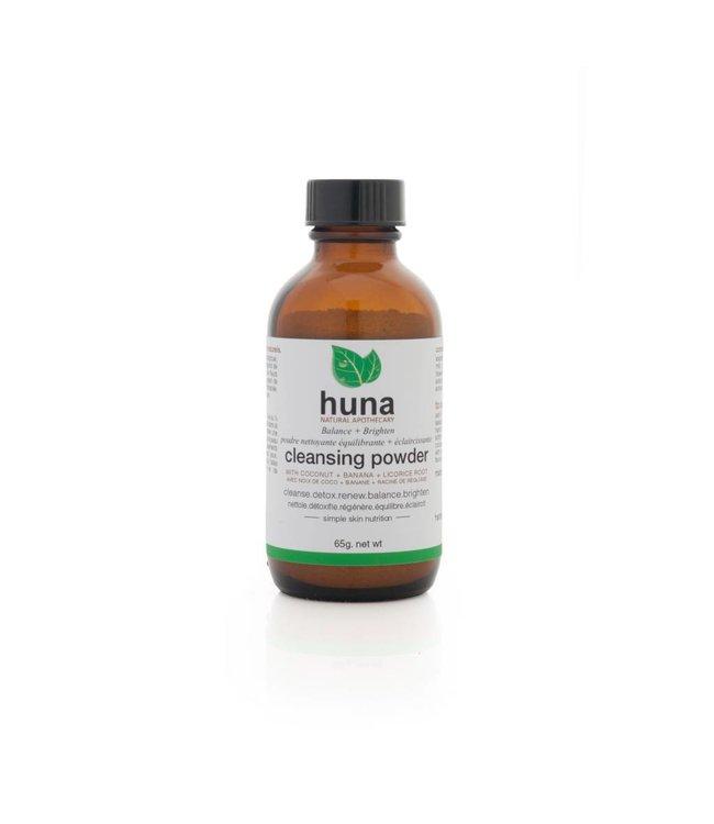 Huna Natural Apothecary  Poudre nettoyante équilibrante & éclaircissante 65g