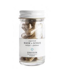 Superfood Mask and Scrub (15 capsules)