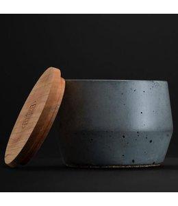 Rituels Bol de rasage en béton avec savon