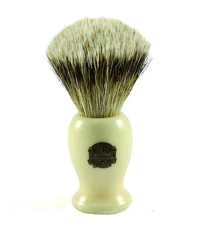 Super Badger Shaving Brush, Medium Cream Handle