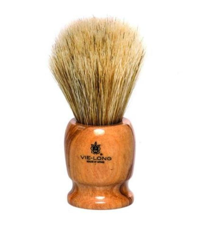 Horse Hair Shaving Brush, Wood Handle