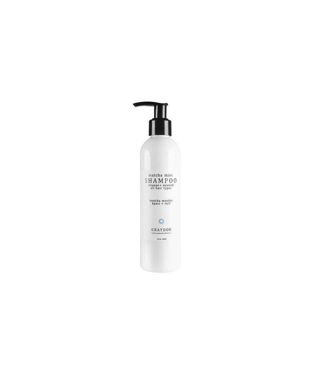 Graydon Skincare Matcha Mint Shampooing 240ml