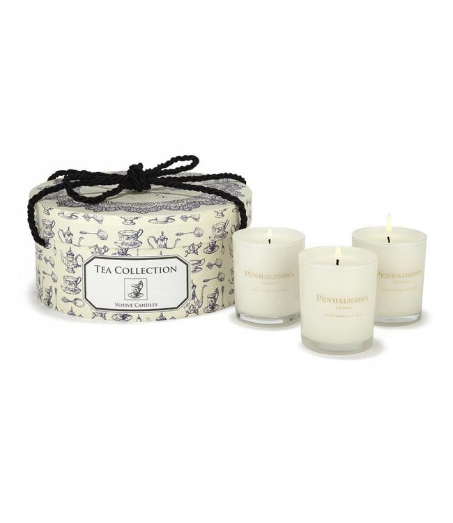 Penhaligon's Box of 3 Tea Candle Collection 75 grams