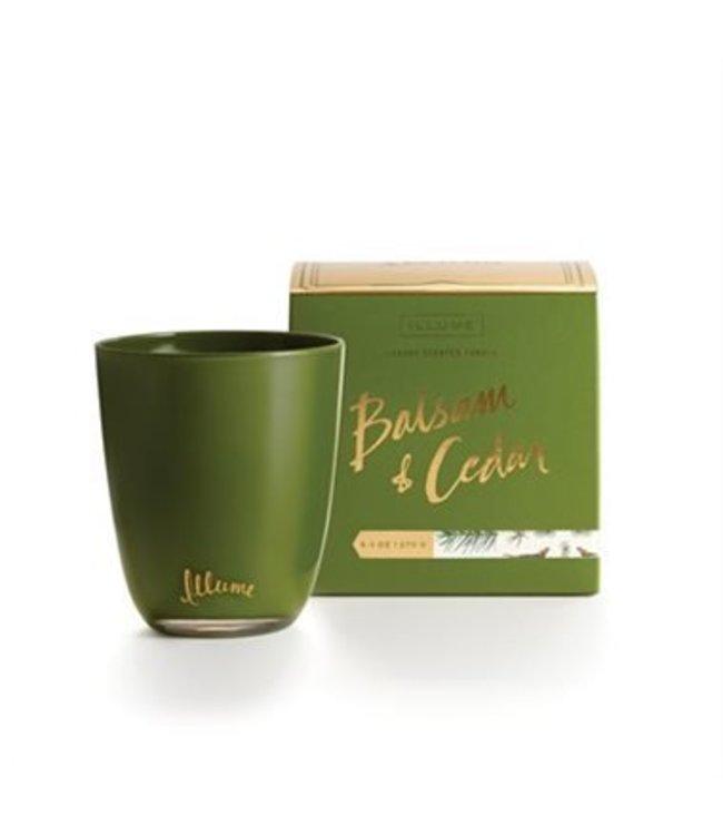 Balsam & Cedar Boxed Glass Candle 9.5 oz