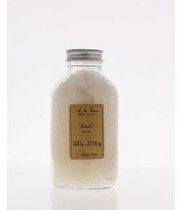 Lothantique Bath Salts  600ml Milk