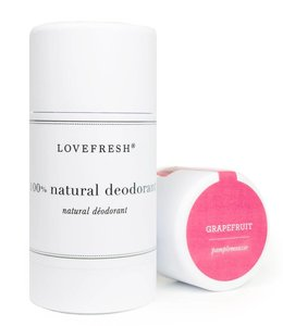 LoveFresh Grapefruit Deodorant Stick 3.7oz