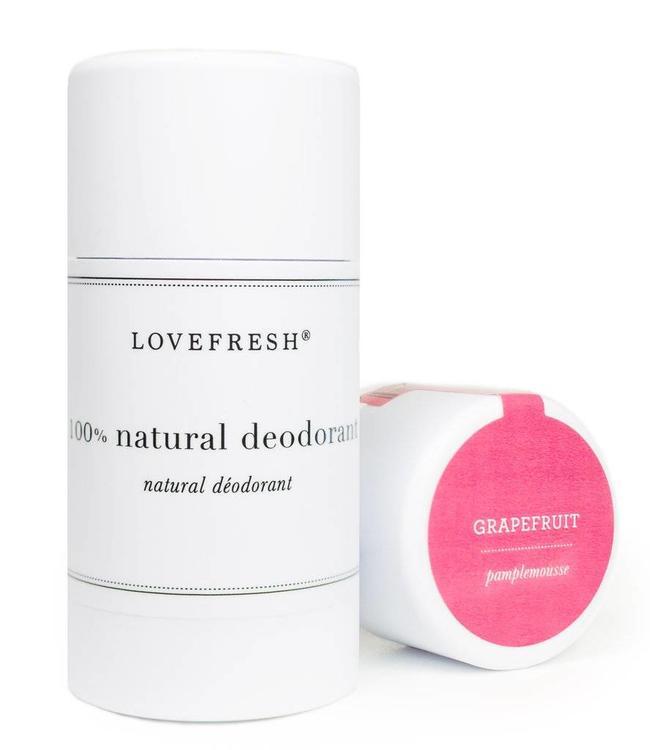 LoveFresh Grapefruit Deodorant Stick 3.7oz