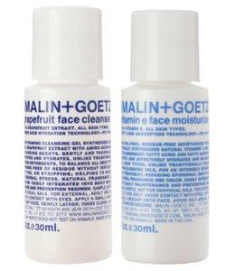 (MALIN+GOETZ) Cadeau Duo de luxe - Nettoyant visage et Hydratant visage à la vitamine E