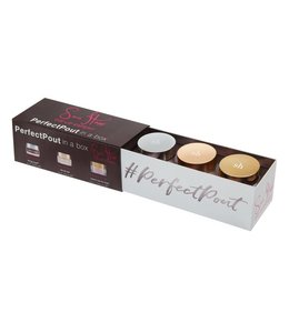 Sara Happ Perfect Pout Gift Set Brown Sugar Trio