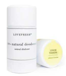LoveFresh Lemon Verbena Deodorant Stick 3.7oz