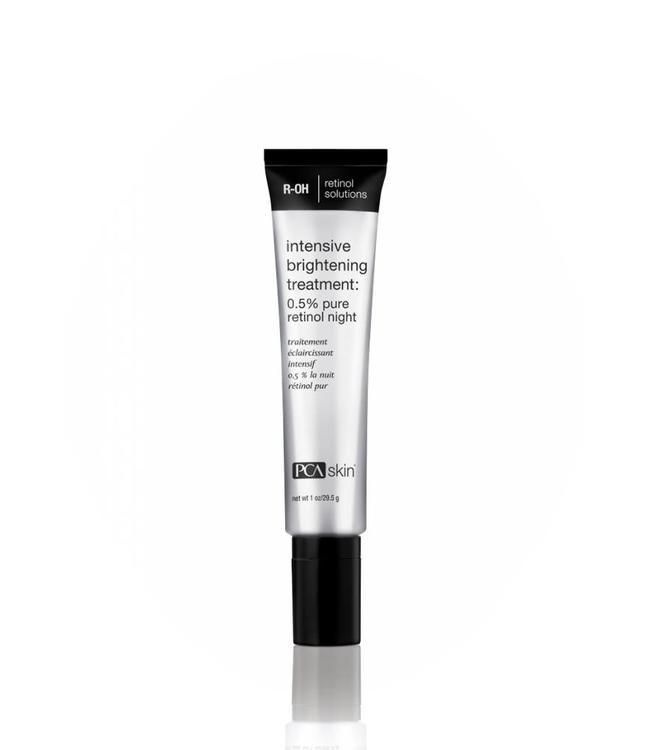 PCA Skin Intensive Brightening Treatment 0.5% Pure Retinol Night 1 oz/ 29.5 g