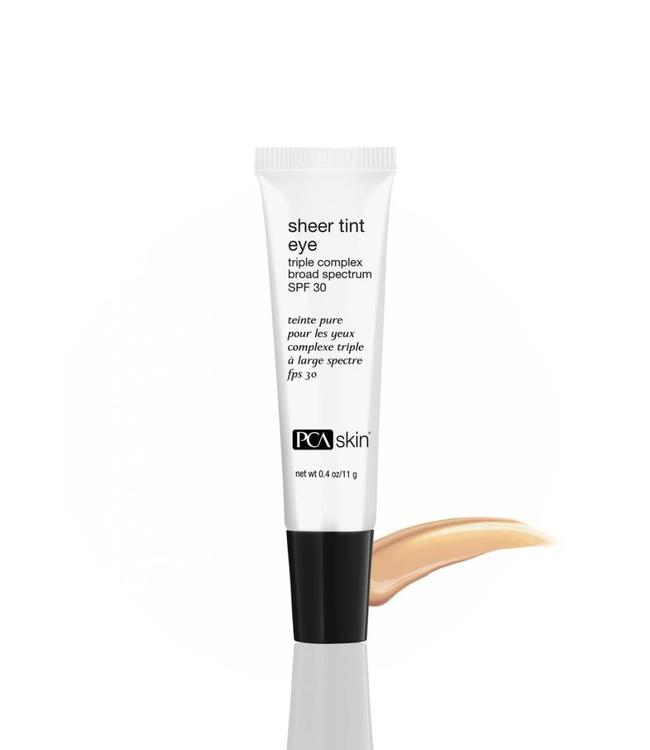 PCA Skin Sheer Tint Eye Triple Complex Broad Spectrum SPF 30 0.4 oz/ 11 g