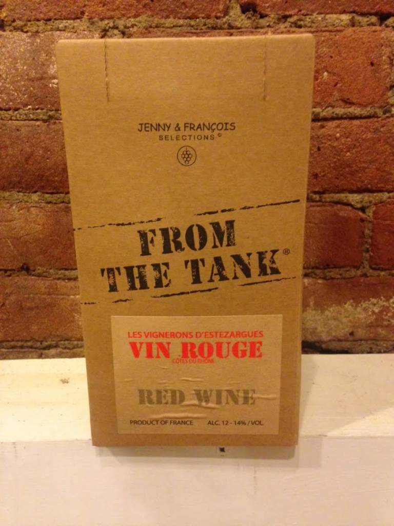 NV From The Tank Vin Rouge, 3L