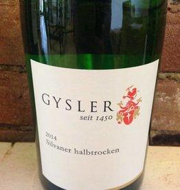 2014 Gysler Rheinhessen Halbtrocken, 1L