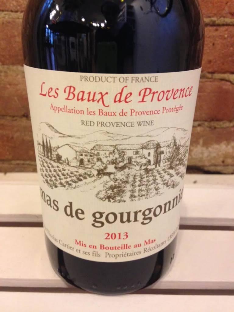 2015 Mas de Gourgonnier Les Baux de Provence Rouge, 750ml