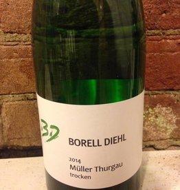"""2016 Borell Diehl  Pfalz """"Muller Thurgau"""", 1L"""