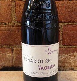 """2014 Domaine de La Monardiere """"Les Deux Monardes"""" Vacqueyras, 750ml"""