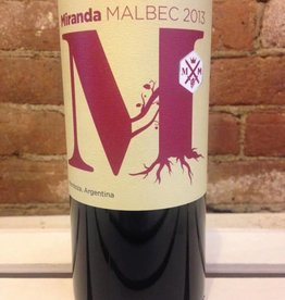2013 Miranda Malbec, 750ml