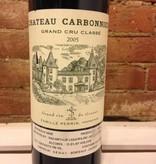 2005 Chateau Carbonnieux Rouge, 750ml