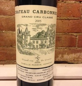 2005 Chateau Carbonnieux Rouge, 750ml
