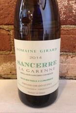 "2016 Domaine Girard Sancerre ""La Garenne"", 750ml"