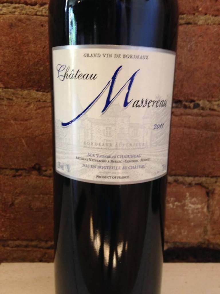 2015 Chateau Massereau Bordeaux Superior Rouge,750ml