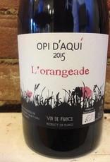"""2016 Domaine Opi D'Aqui """" L'Orangeade Vin de France,750ml"""