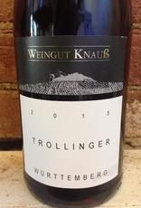 2015 Weingut Knauss Wurttemberg Trollinger, 1liter