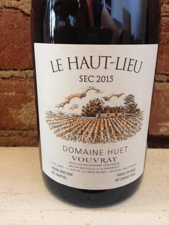 2015 Domaine Huet Le Haut-Lieu Vouvray Sec, 750ml