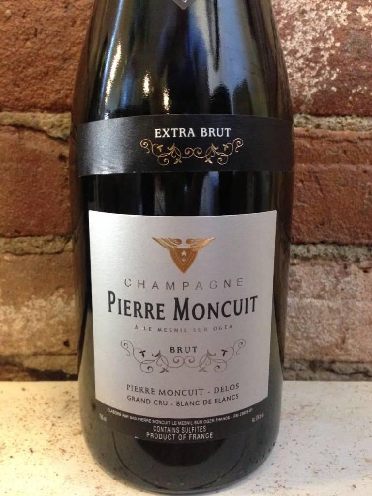 NV Pierre Moncuit Blanc de Blanc Extra Brut Grand Cru Champagne,750ml