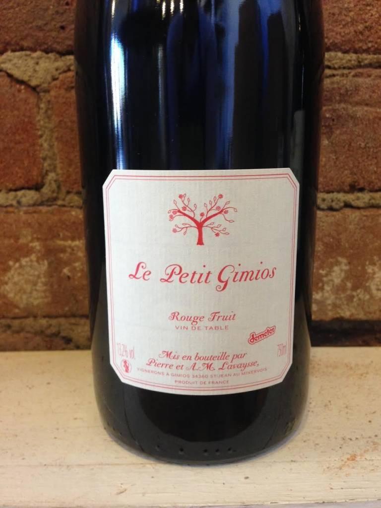 2015 Le Petit Domaine de Gimios Rouge Fruit, 750ml