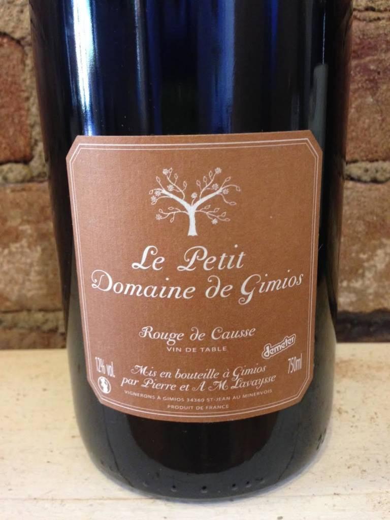 2015 Le Petit Domaine de Gimios Rouge de Causse, 750ml