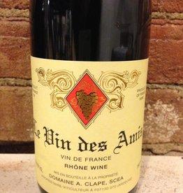2016 August Clape Le Vin des Amis VDF Rouge,750ml