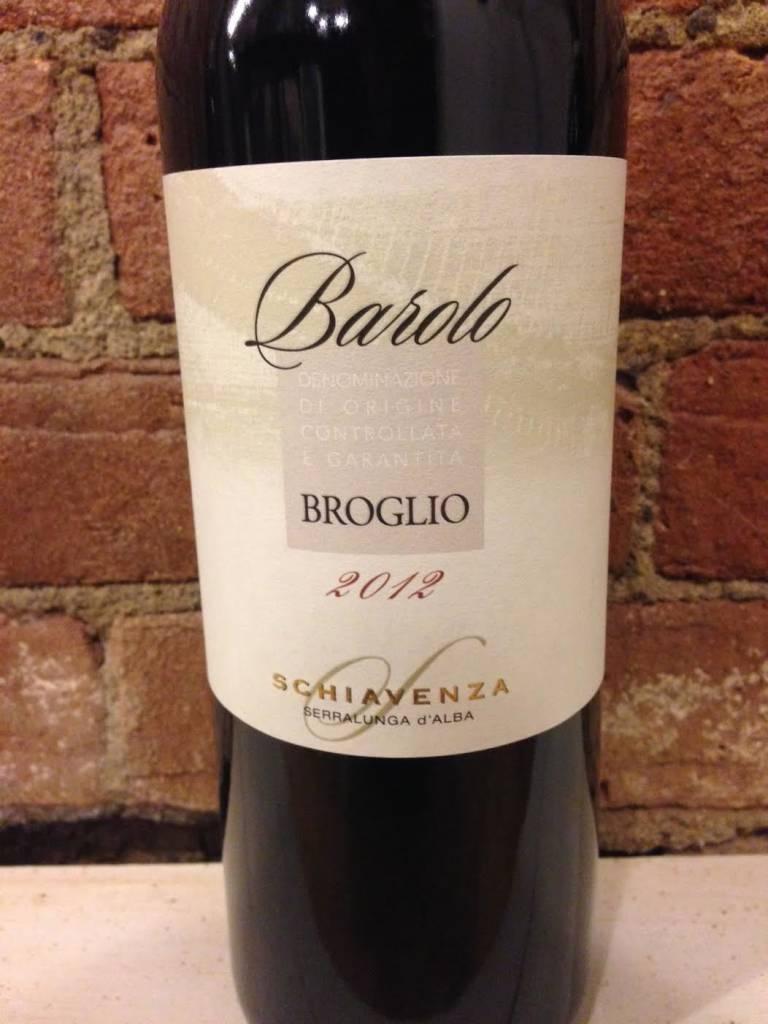"""2012 Schiavenza Barolo """"Broglio"""", 750ml"""