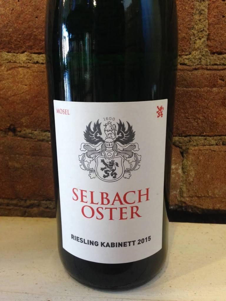 2015 Selbach Oster Riesling Kabinett,750ml
