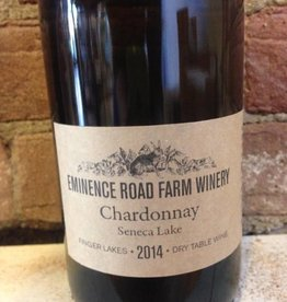 "2016 Eminence Road Farm Winery Chardonnay ""Seneca Lake"", 750ml"