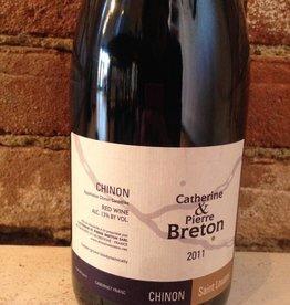 "2011 Catherine & Pierre Breton Chinon ""St. Louans"",750ml"
