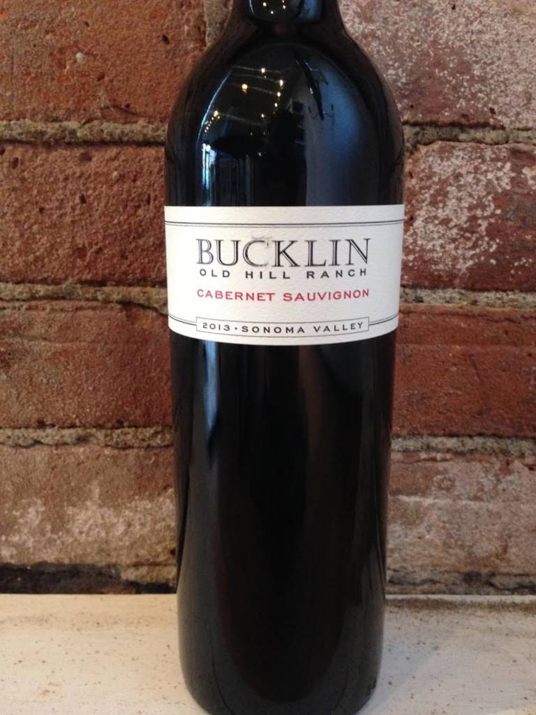 2014 Bucklin Cabernet Old Hill Ranch Sonoma County,750ml