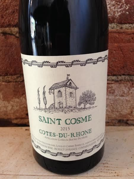 2015 Saint Cosme Cotes du Rhone Blanc,750ml