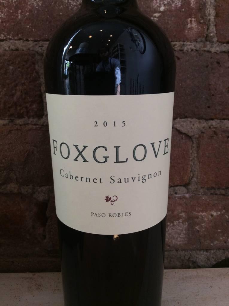 2014 Foxglove Cabernet Sauvignon Paso Robles, 750ml