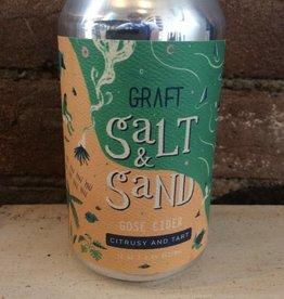 """Graft """"Salt & Sand"""" Gose Cider, 12oz"""